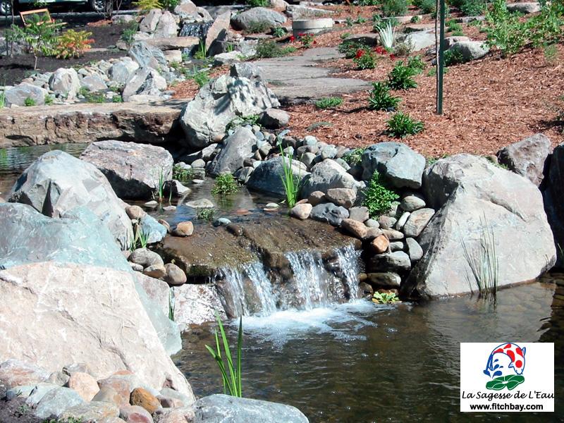 Bassin de jardin avec chute d eau meilleures id es for Bassin d eau jardin