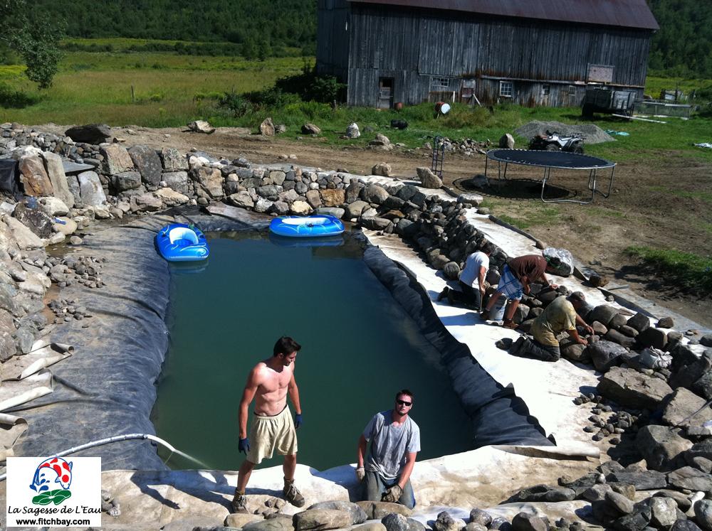 P pini re aquatique de fitch bay bienvenue for Traitement d eau piscine